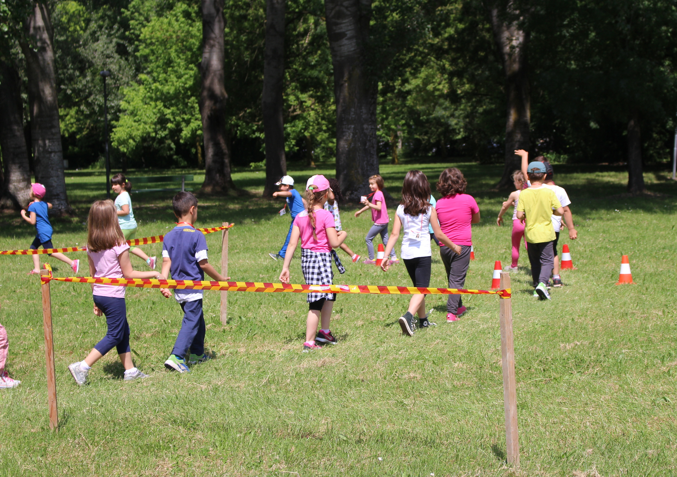 attività per bambini al centro sportivo